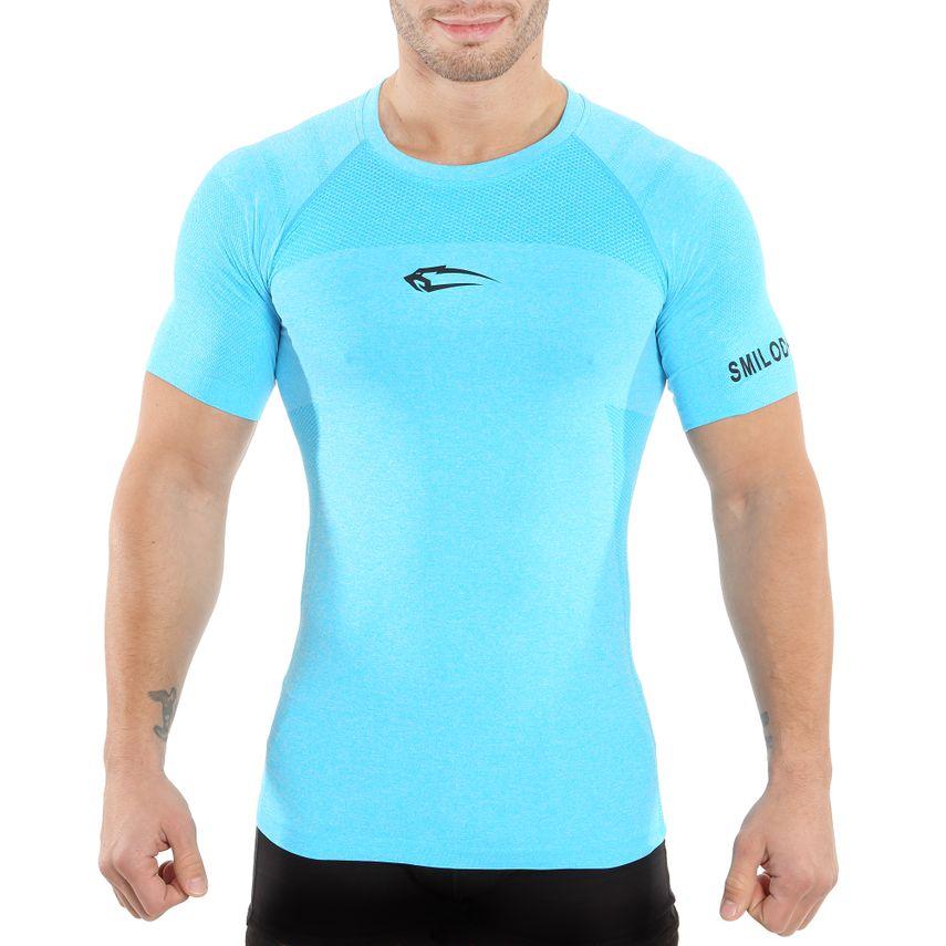 SMILODOX T-Shirt Men Sports Fitness  Gym Leisure Training Shirt Sportshirt – Bild 6