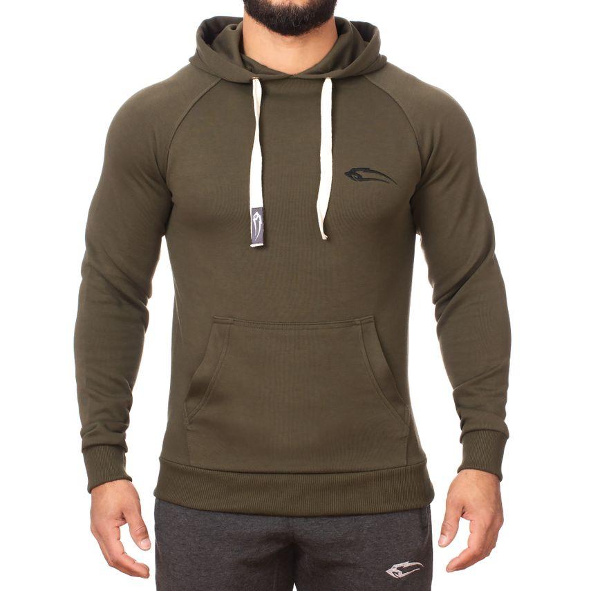 SMILODOX  Hoodie Men Sports Fitness  Gym Leisure Sports Sweater Hooded Sweater – Bild 1