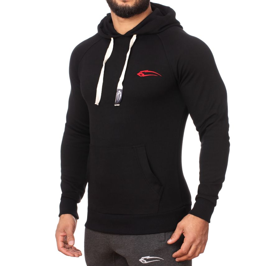 SMILODOX  Hoodie Men Sports Fitness  Gym Leisure Sports Sweater Hooded Sweater – Bild 14