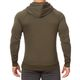 SMILODOX  Hoodie Men Sports Fitness  Gym Leisure Sports Sweater Hooded Sweater – Bild 4