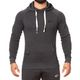 SMILODOX  Hoodie Men Sports Fitness  Gym Leisure Sports Sweater Hooded Sweater – Bild 9