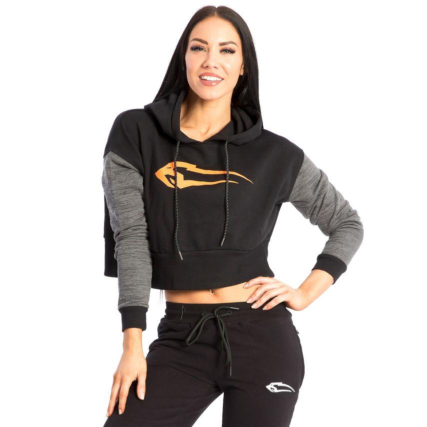 SMILODOX Hoodie Damen Sport Fitness Gym Freizeit Sportpullover Kapuzenpullover – Bild 4