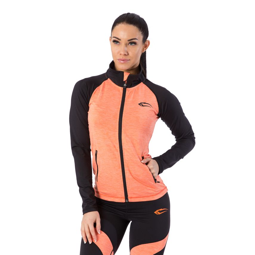 SMILODOX Jacket Ladies Sports Fitness Gym Leisure Tracksuit Fitness Jacket – Bild 4