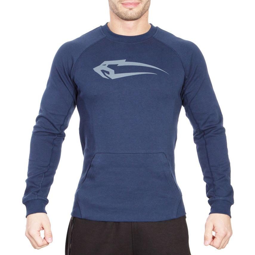 SMILODOX Sweatshirt Herren Sport Fitness Gym Freizeit Pullover Trainingspullover – Bild 5