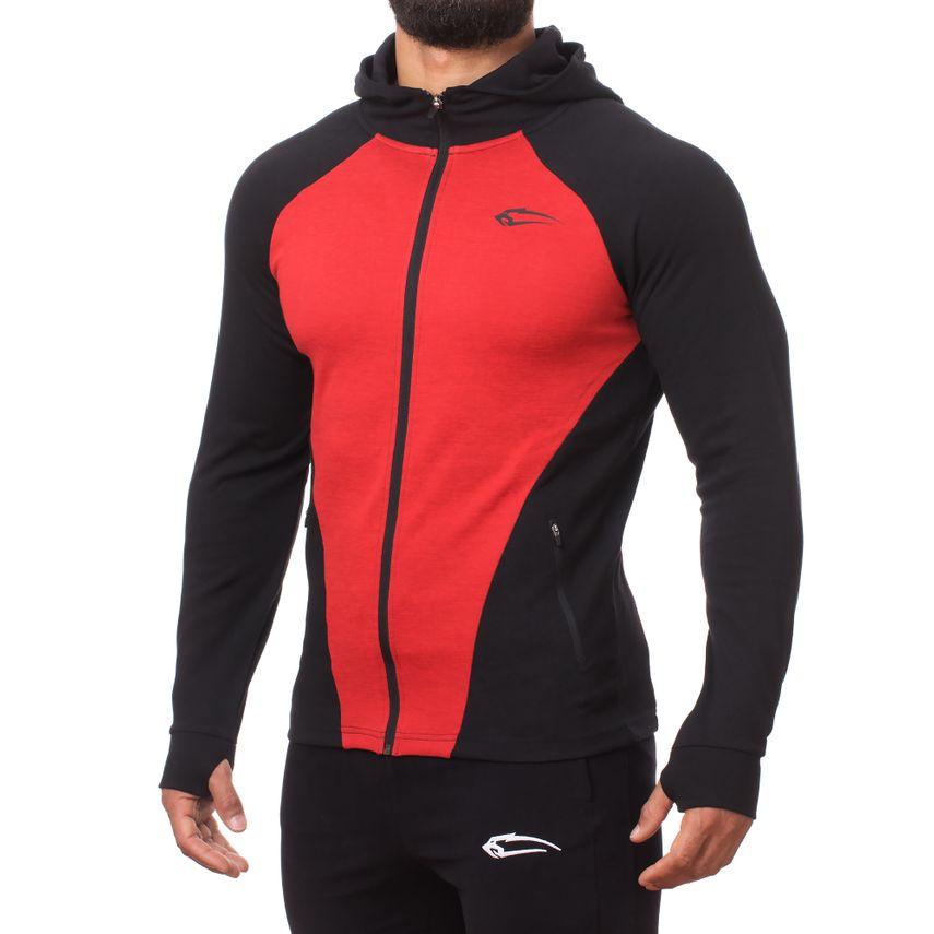 SMILODOX  Zip Hoodie Men Sports Fitness  Gym Leisure Sweaters Hooded Sweaters – Bild 9
