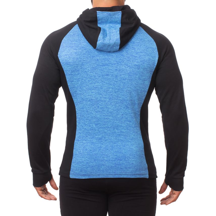 SMILODOX Zip Hoodie Herren Sport Fitness Gym Freizeit Pullover Kapuzenpullover – Bild 8