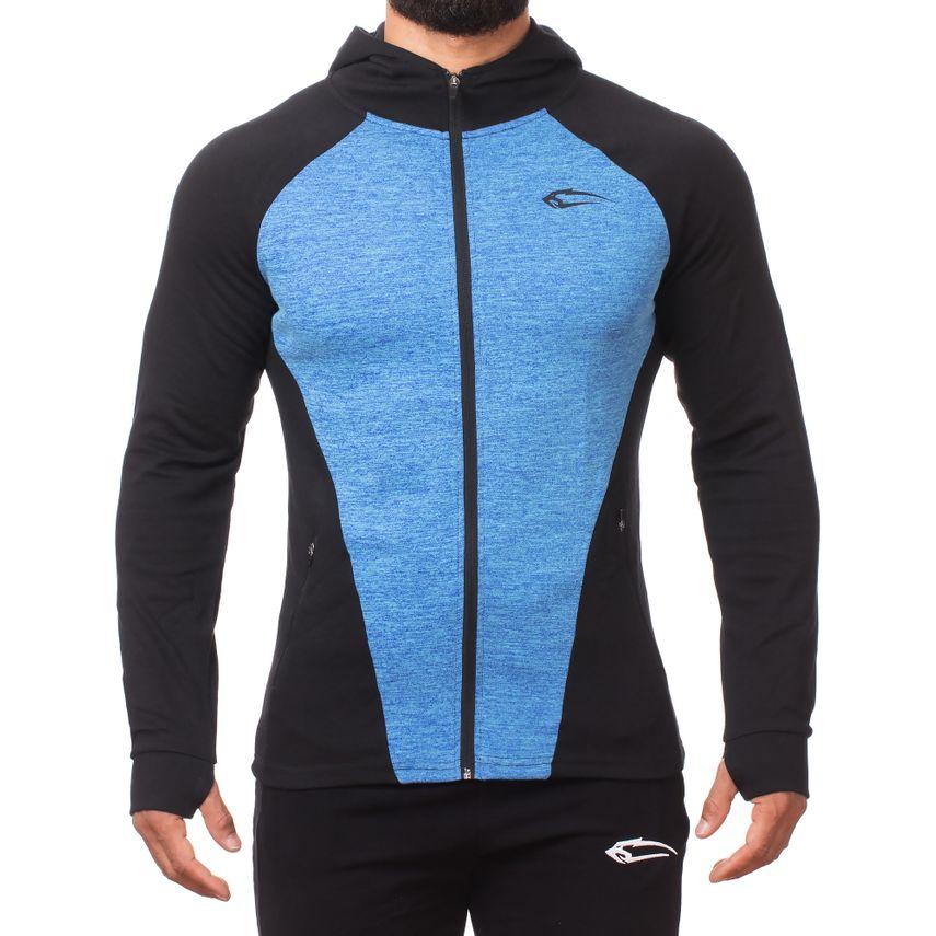 SMILODOX  Zip Hoodie Men Sports Fitness  Gym Leisure Sweaters Hooded Sweaters – Bild 5