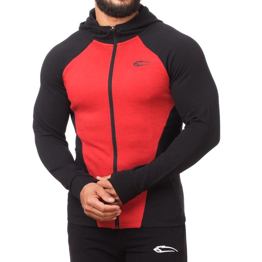 SMILODOX  Zip Hoodie Men Sports Fitness  Gym Leisure Sweaters Hooded Sweaters – Bild 11