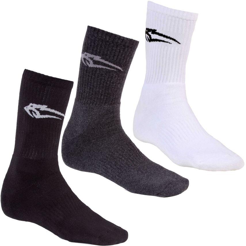 Smilodox Unisex Socken 3er Pack – Bild 1