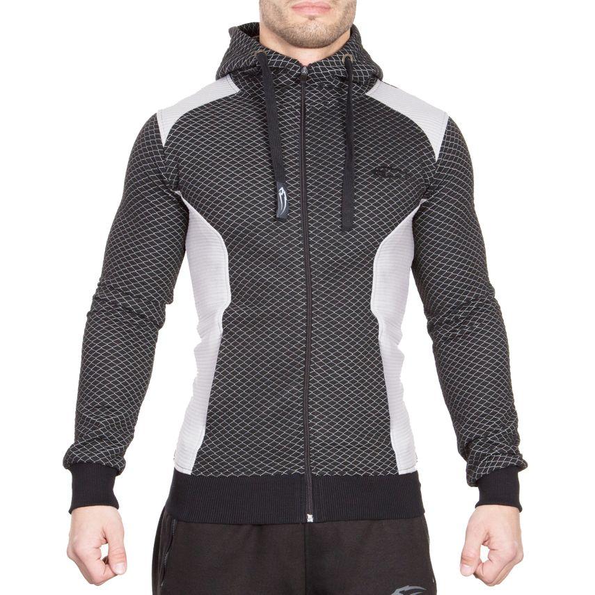 SMILODOX  Zip Hoodie Men Sports Fitness  Gym Leisure Sweaters Hooded Sweaters – Bild 1