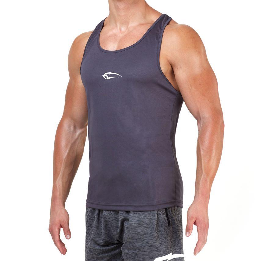 SMILODOX Stringer Men Sports Fitness  Gym Leisure Training Shirt Tank Top – Bild 1