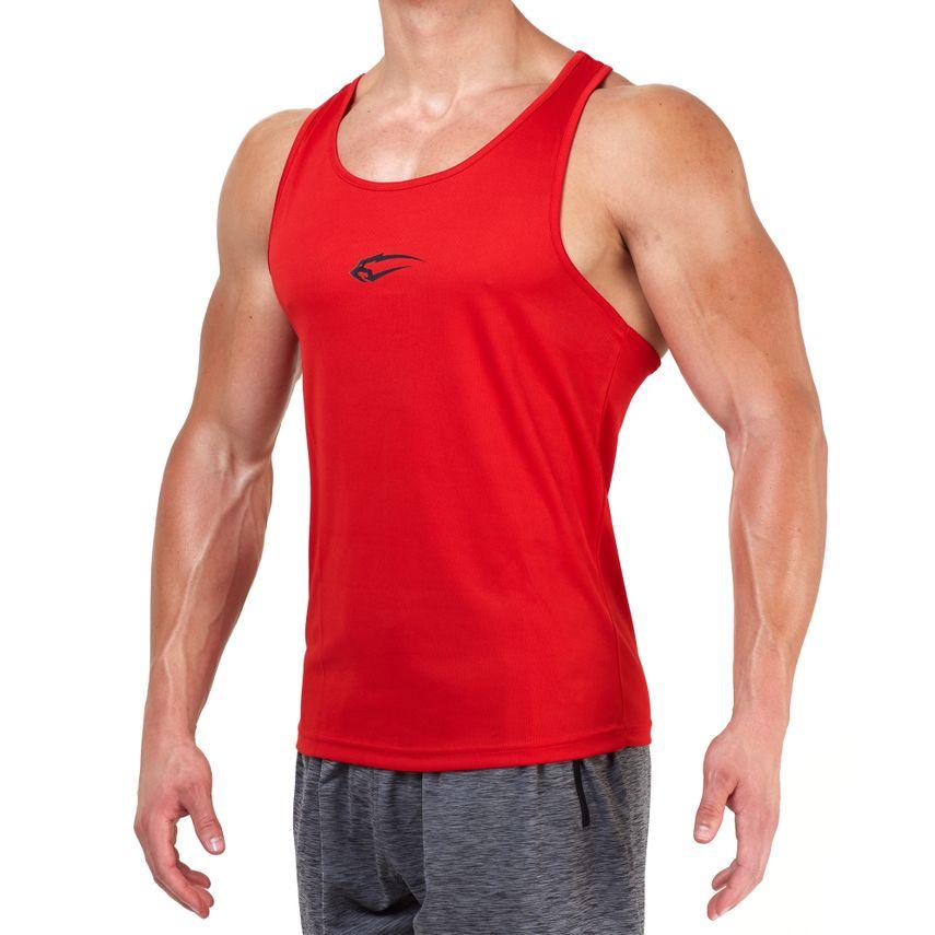 SMILODOX Stringer Men Sports Fitness  Gym Leisure Training Shirt Tank Top – Bild 7