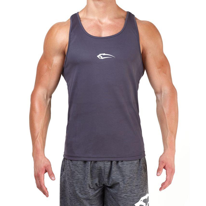 SMILODOX Stringer Men Sports Fitness  Gym Leisure Training Shirt Tank Top – Bild 2