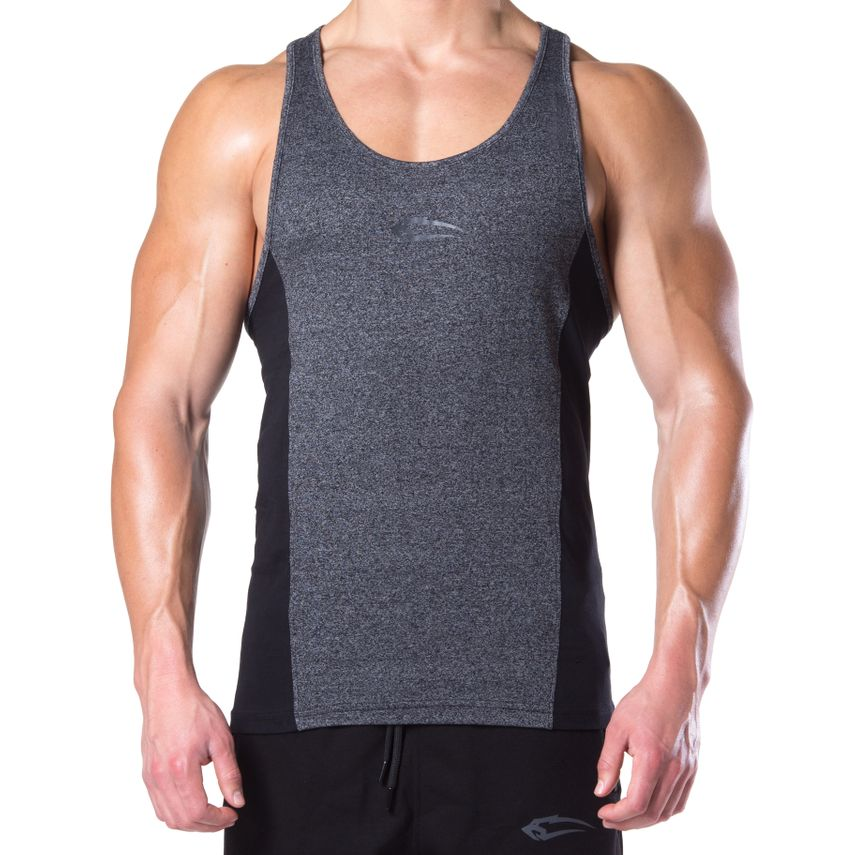 SMILODOX Stringer Herren Sport Fitness Gym Freizeit Trainingsshirt Tank Top – Bild 5