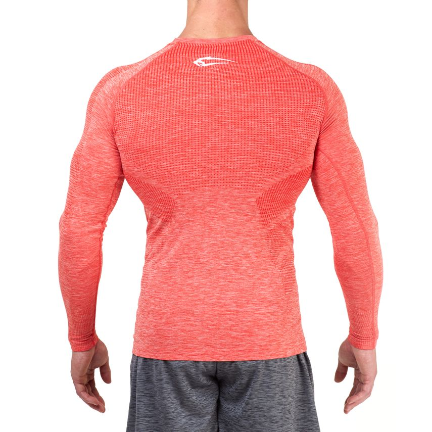 SMILODOX Slim Fit Longsleeve Herren Sport Fitness Gym Training Langarmshirt – Bild 6