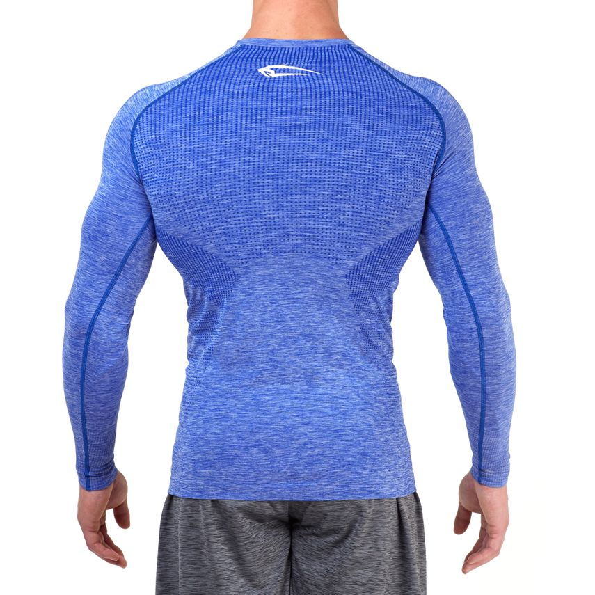 SMILODOX Slim Fit Longsleeve Herren Sport Fitness Gym Training Langarmshirt – Bild 9