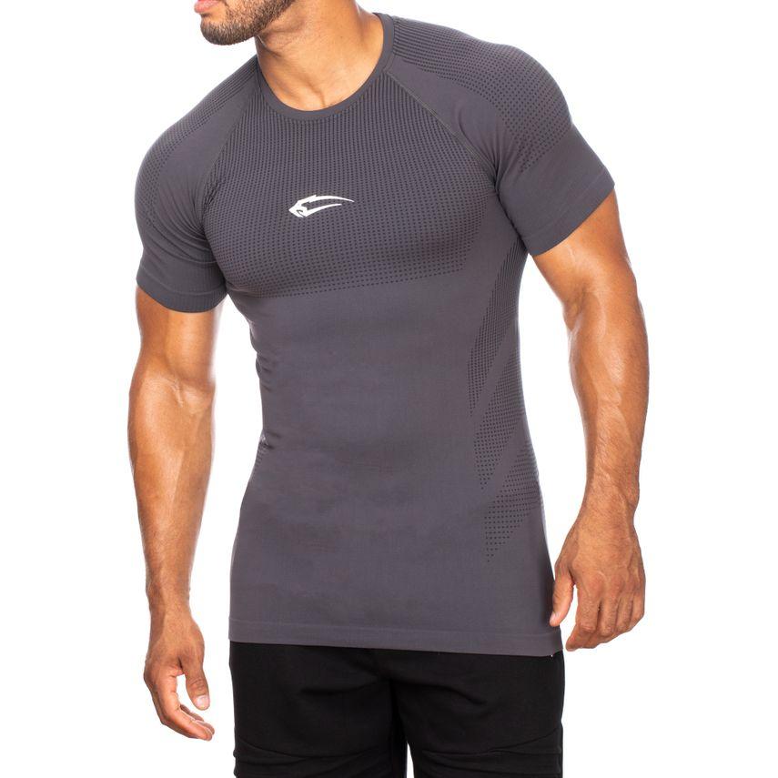 SMILODOX T-Shirt Herren Sport Fitness Gym Freizeit Trainingsshirt Sportshirt – Bild 9