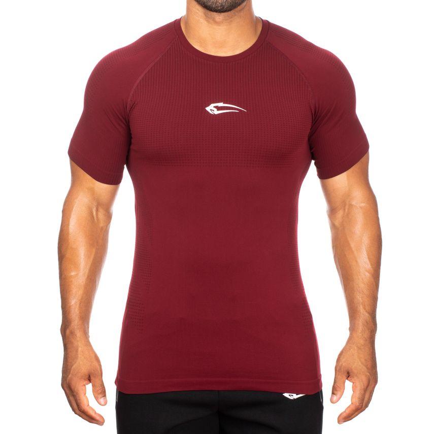 SMILODOX T-Shirt Men Sports Fitness  Gym Leisure Training Shirt Sportshirt – Bild 2