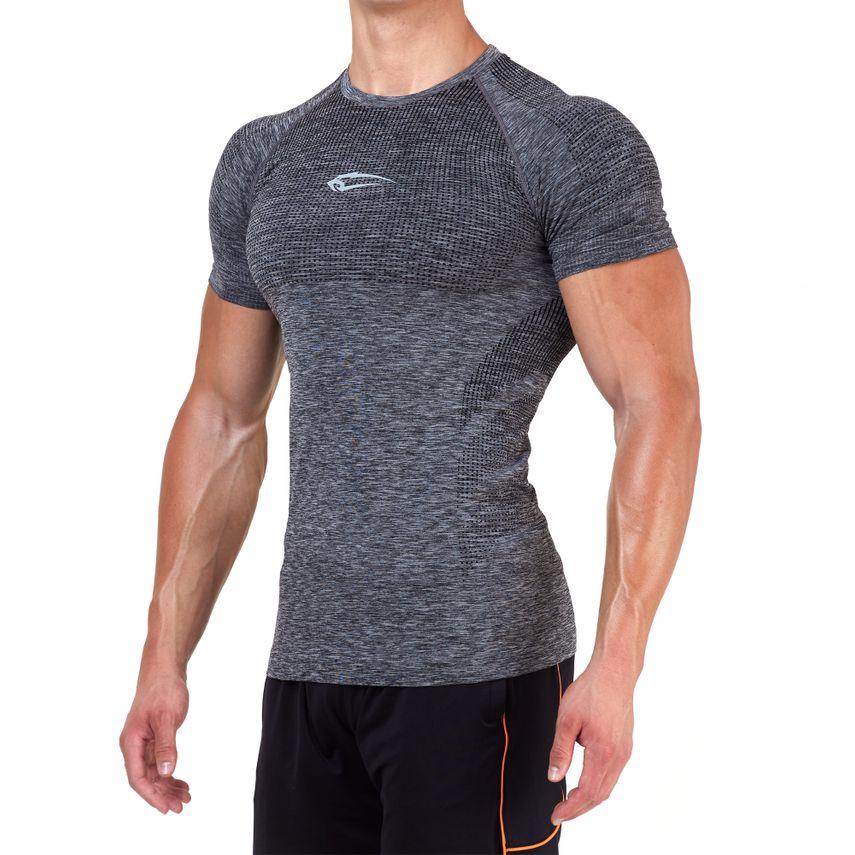 SMILODOX T-Shirt Men Sports Fitness  Gym Leisure Training Shirt Sportshirt – Bild 19