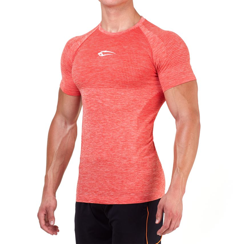 SMILODOX T-Shirt Men Sports Fitness  Gym Leisure Training Shirt Sportshirt – Bild 13