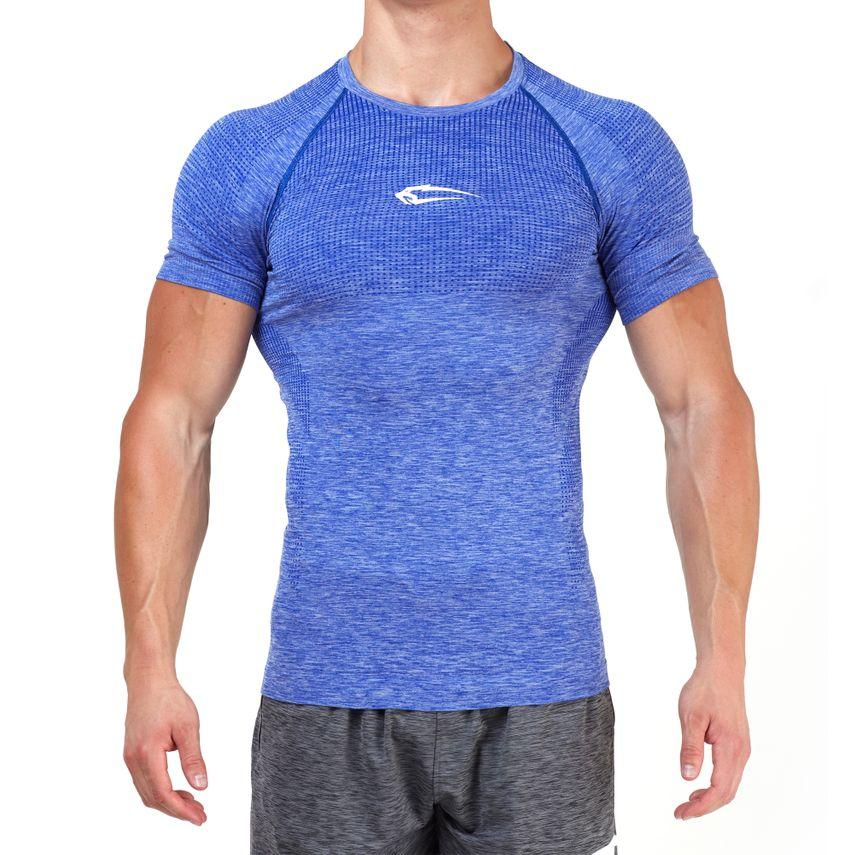 SMILODOX T-Shirt Men Sports Fitness  Gym Leisure Training Shirt Sportshirt – Bild 17