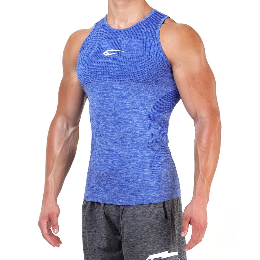 SMILODOX Tank Top Men Sports Fitness  Gym Leisure Training Shirt Sporttop – Bild 4