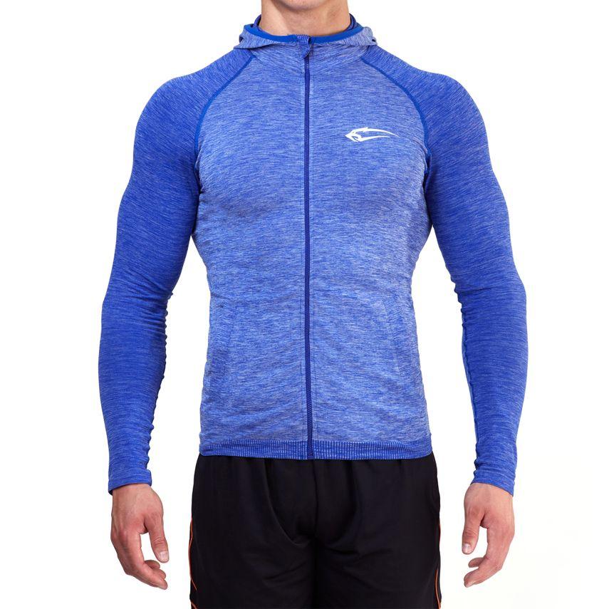 SMILODOX Zip Hoodie Herren Sport Fitness Gym Freizeit Pullover Kapuzenpullover – Bild 2