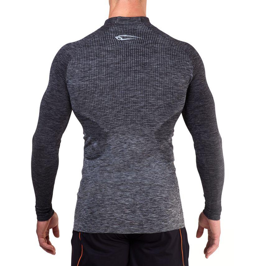 SMILODOX Slim Fit Longsleeve Herren Sport Fitness Gym Training Langarmshirt – Bild 3