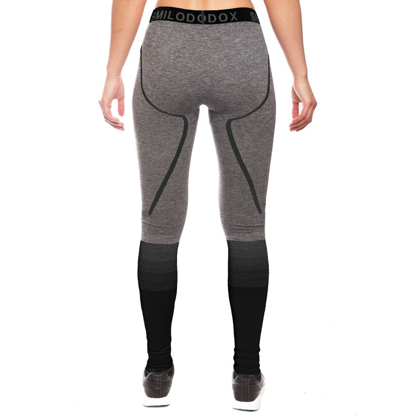 SMILODOX Leggings Ladies Sports Fitness Gym Leisure Yoga Training Stretch Tight – Bild 3