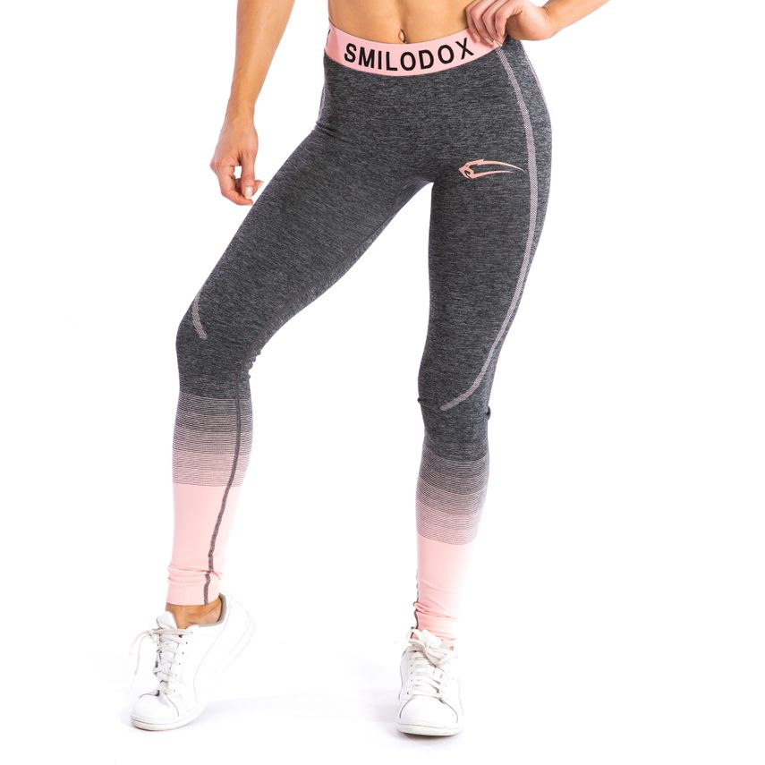 92a28b1448 SMILODOX Leggings Ladies Sports Fitness Gym Leisure Yoga Training Stretch  Tight – Bild 13