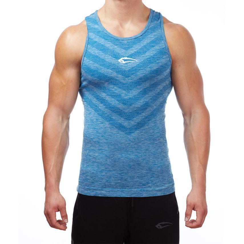 SMILODOX Tank Top Herren Sport Fitness Gym Freizeit Trainingsshirt Sporttop – Bild 11