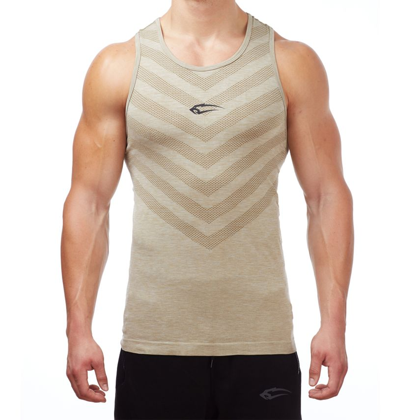 SMILODOX Tank Top Men Sports Fitness  Gym Leisure Training Shirt Sporttop – Bild 2
