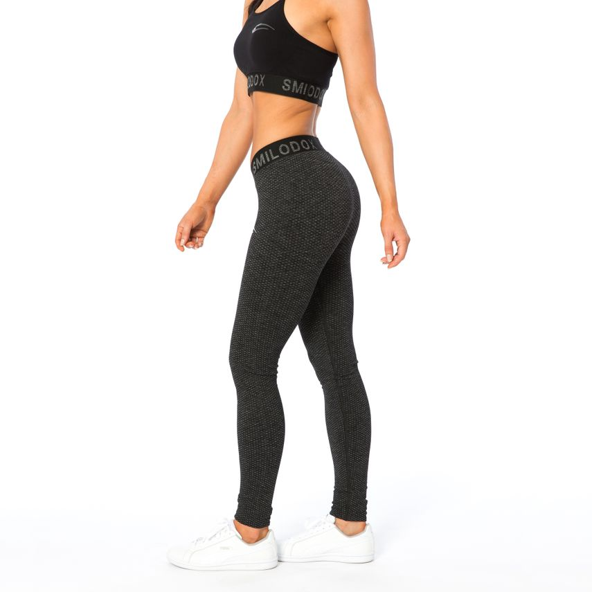 SMILODOX Leggings Damen Sport Fitness Gym Freizeit Yoga Training Stretch Tight – Bild 15
