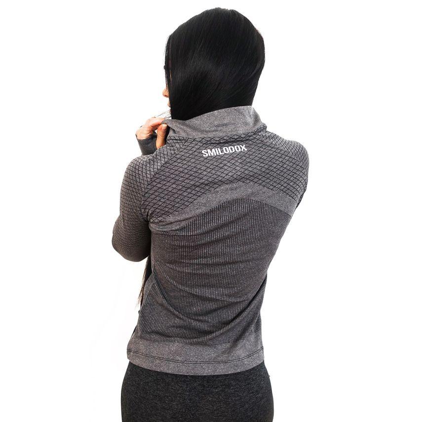 SMILODOX Jacket Ladies Sports Fitness Gym Leisure Tracksuit Fitness Jacket – Bild 2