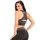 SMILODOX Sports Bra Ladies Sports Fitness Gym Leisure Yoga Training Jogging – Bild 3