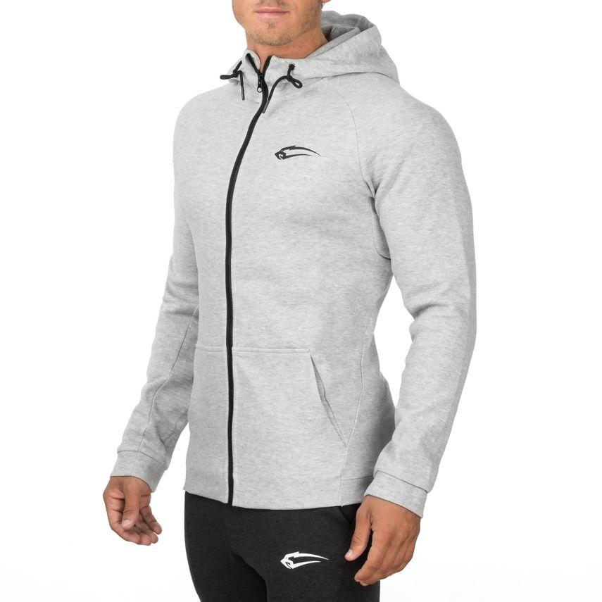 SMILODOX  Zip Hoodie Men Sports Fitness  Gym Leisure Sweaters Hooded Sweaters – Bild 4