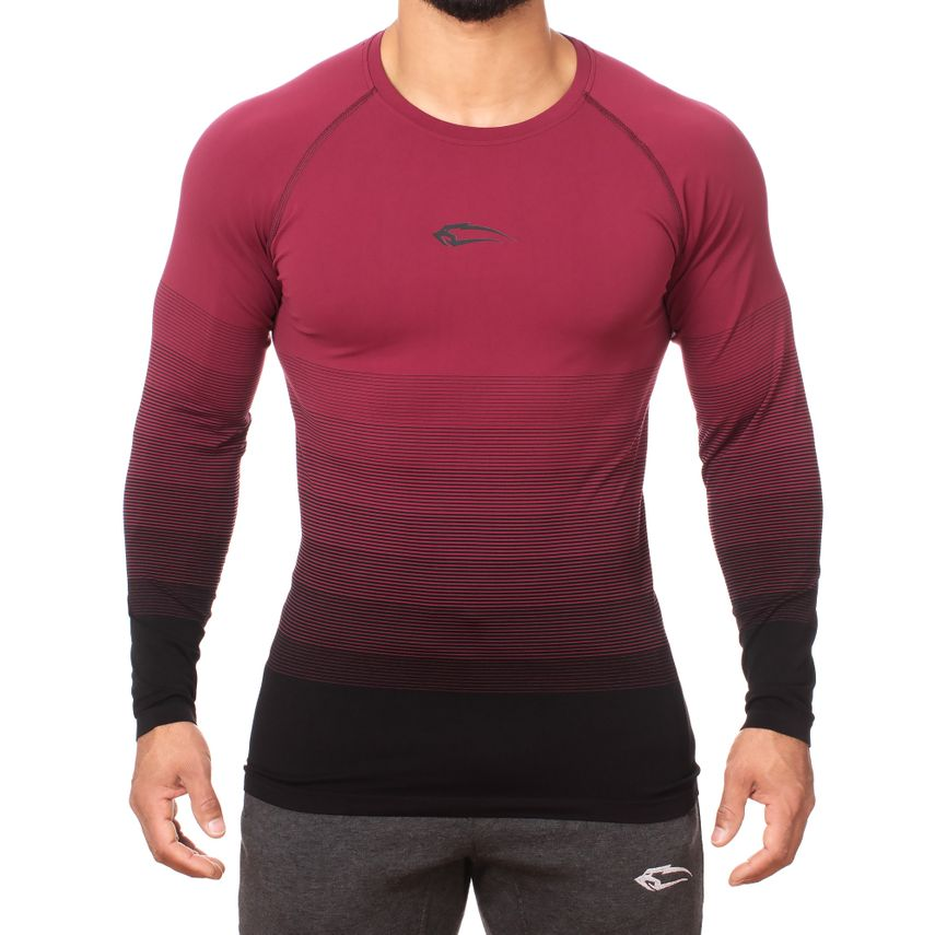 SMILODOX Slim Fit Longsleeve Herren Sport Fitness Gym Training Langarmshirt – Bild 10