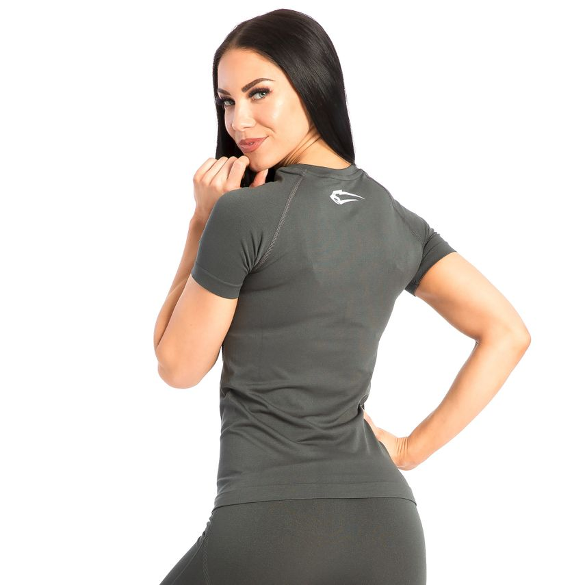 SMILODOX Shirt Damen Sport Fitness Gym Freizeit Top Sportshirt Trainingstop – Bild 9