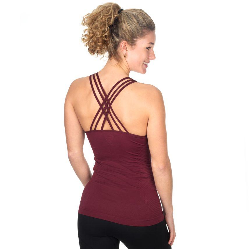 SMILODOX Top Ladies Sports Fitness Gym Leisure Top Sportshirt Trainingstop – Bild 9