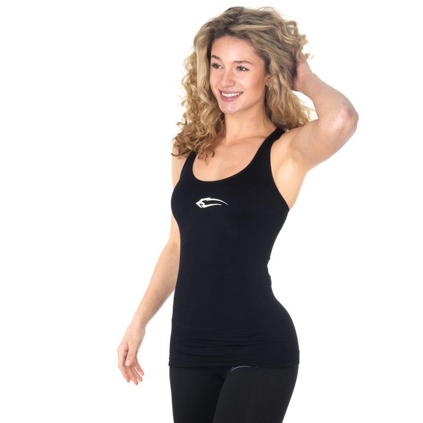 SMILODOX Top Ladies Sports Fitness Gym Leisure Top Sportshirt Trainingstop – Bild 4