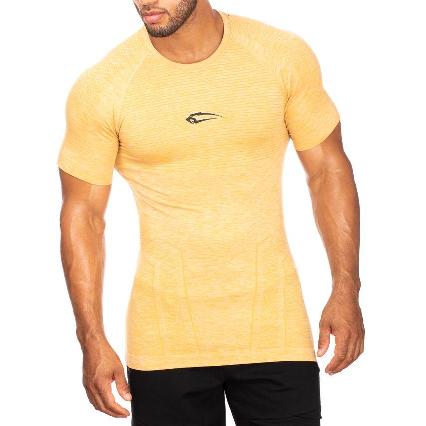 7445f384 SMILODOX T-Shirt Men Sports Fitness Gym Leisure Training Shirt Sportshirt –  Bild 1