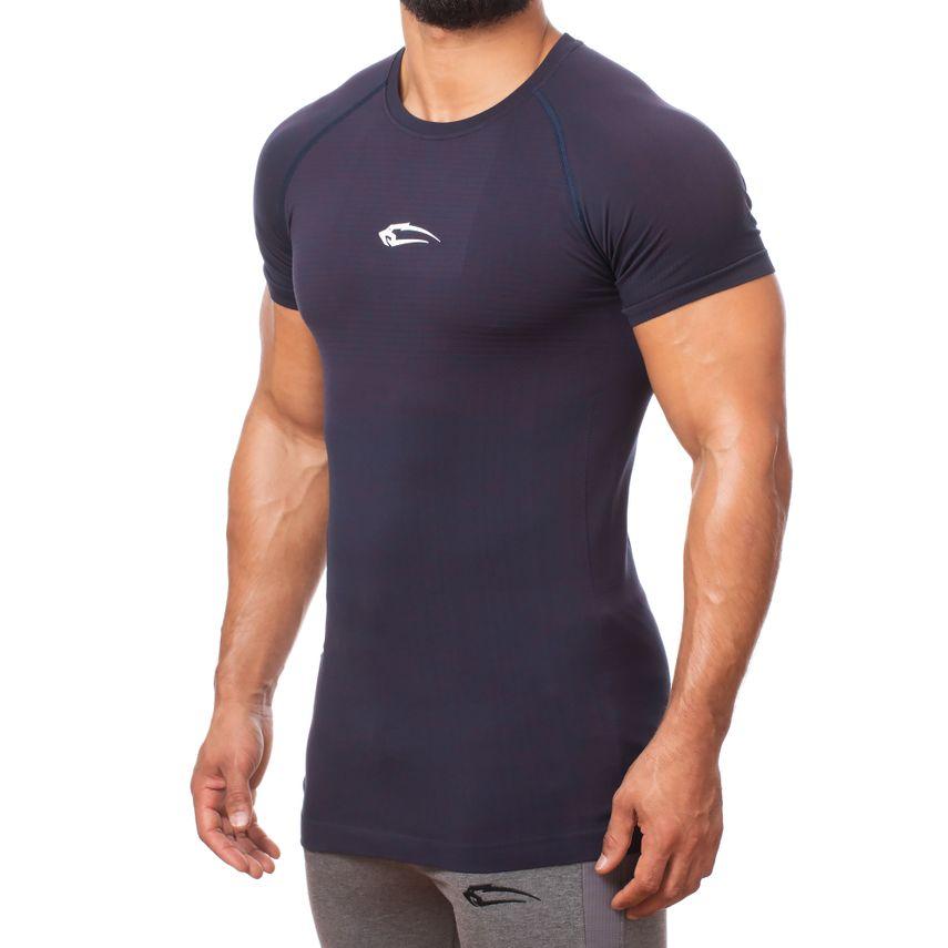 SMILODOX T-Shirt Herren Sport Fitness Gym Freizeit Trainingsshirt Sportshirt – Bild 7
