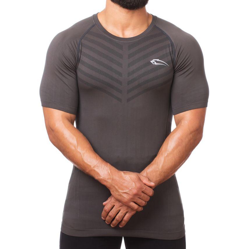 Smilodox Herren Seamless T-Shirt Bolt – Bild 2