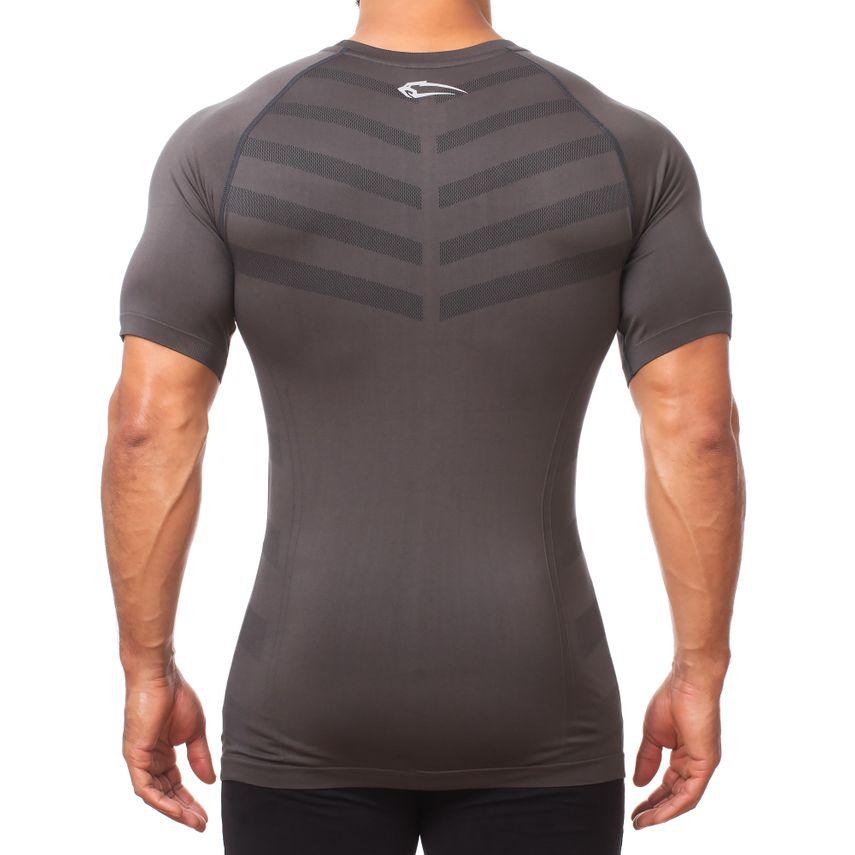 Smilodox Herren Seamless T-Shirt Bolt – Bild 4