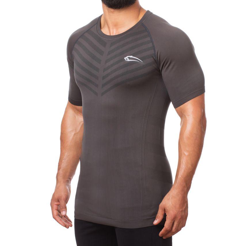 Smilodox Herren Seamless T-Shirt Bolt – Bild 3