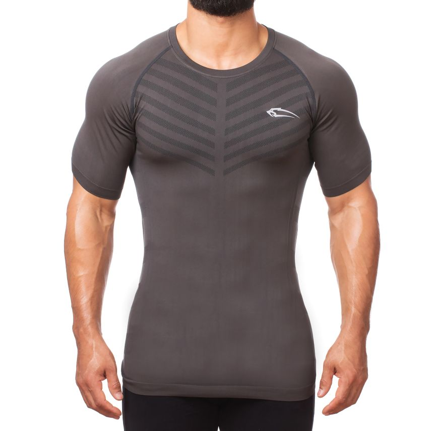 Smilodox Herren Seamless T-Shirt Bolt – Bild 1