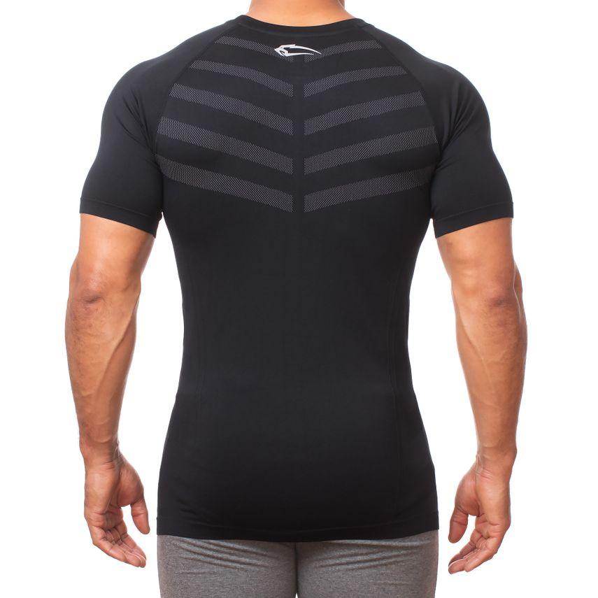 Smilodox Herren Seamless T-Shirt Bolt – Bild 7