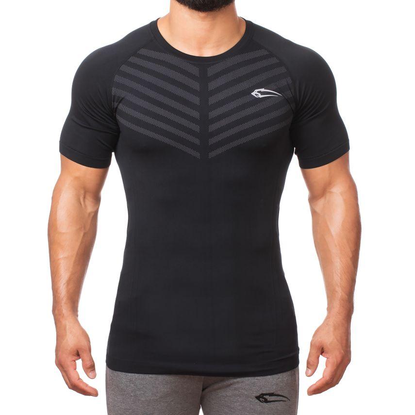 Smilodox Herren Seamless T-Shirt Bolt – Bild 5