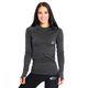 SMILODOX Slim Fit Longsleeve Damen Sport Fitness Gym Training Langarmshirt – Bild 3