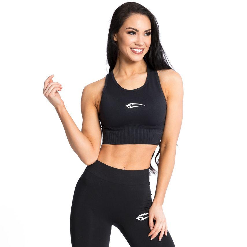 SMILODOX Sports Bra Ladies Sports Fitness Gym Leisure Yoga Training Jogging – Bild 2